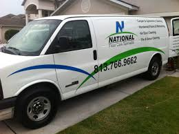 used butler carpet cleaning van for