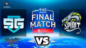dota 2 live sge vs spirit dota 2 the final 2017 spirit vs