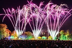 fireworks night bonfire night event at battersea park south london