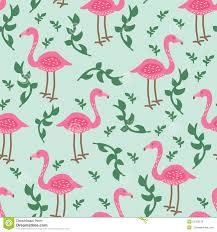 Flamingo Pattern Inspiration Flamingo Pattern Stock Illustration Illustration Of Plants 48