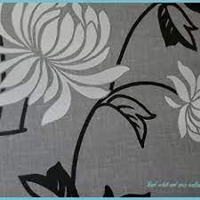 Riva Modern Floral Wallpaper Black Grey ...