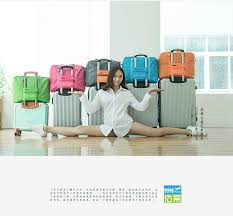<b>Travel Bag Packing Cube</b> wheel suitcase weekend bag Carry on ...