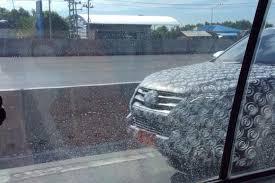 new car 2016 thai2016 Toyota Fortuner spied again in Thailand