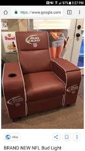 2017 big daddy chair nfl game day chair bud light for in east saint louis il offerup