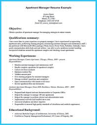 16 Apartment Manager Resume | Chelshartman.me