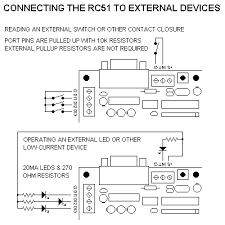 industrologic rc51 reference manual diagram of rc51 i o connections