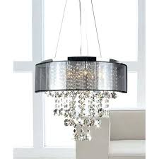 shea 9 light chandelier silver orchid chrome and translucent black shade 9 light crystal chandelier home improvement ideas diy home design ideas website