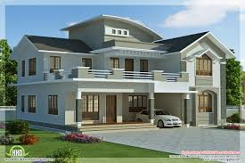 Small Picture contemporary house designs sqfeet 4 bedroom villa design