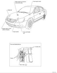 need fuse box and relay diagram for nissan altima 2012 nissan altima fuse box location you will have to determine which of the terminals is powered with your testlight i don't know the exact configuration of the pins on the relay so i see you
