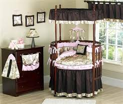 Bedroom Ideas : Elegant Baby Room Decorating Ideas With Unique Round ...