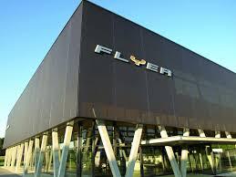 office facade. FBI Building Facade; Stamisol Color Office Facade N