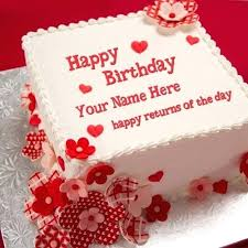 Birthday Wishes For Husband On Cake Pictures Of Birthday Cakes For