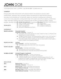 Wonderful School Administrator Resume Gallery Entry Level Resume