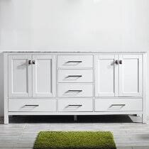 29 1/2 w x 31 1/2 h ceramic white vessel sink phoenix stone white vanity top soft close. 78 Inch Bathroom Vanity Wayfair