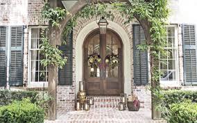 Custom Front Door Colonial House Of Flowers Fresh Flower Primitive
