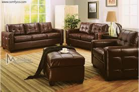 Leather Furnitures Living Rooms Leather Living Room Furniture Regarding Inspire Room Pictures