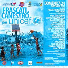 A canestro per l'UNICEF