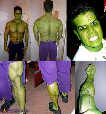 the incredible hulk make up detail the incredible hulk costume