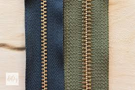 Zipper Size Chart Understanding Zipper Types Weights Sizes And Parts The