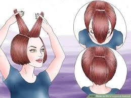image titled do a layered haircut step 7