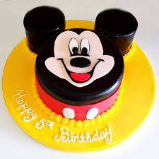 Mic005 Dainty Mickey Mouse Cake Mickey Mouse Cake Cake
