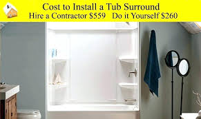 bathtub installation installing a bathtub bathtub installation cost