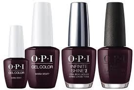 Opi Gel Nail Polish Colors 2017