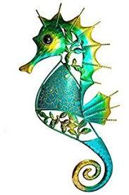sdl decorative metal glittery wall art 32 cm seahorse 17408  on seahorse wall art metal with amazon sdl decorative metal and glass wall art 46 cm seahorse