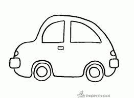 Kleurplaat Auto Moeder En Vaderdag Vaderdag Knutselen Auto