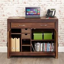 computer furniture for home. Simple Home Mayan Walnut Hidden Home Office And Computer Furniture For M