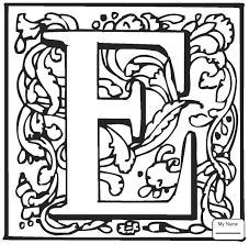 coloring pages english alphabet with ornaments letters and alphabet letter  c with ornament