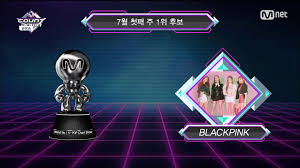 Mnet Chart 2018 Info 180705 06 Blackpink Wins 1st Place On Mnet M Countdown