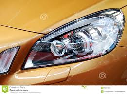 Front Light Car Front Light Stock Photo Image Of Vehicle Bulb