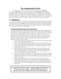 College Essay Thesis Thesis Paper Introduction