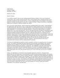 Creative Psychology Cover Letter On Cover Letter Psychology