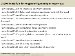 Technical Manager Cover Letter Top 5 Engineering Manager Cover Letter Samples
