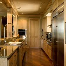 Lighting for galley kitchen Contemporary Inspiration For Contemporary Galley Kitchen Remodel In Atlanta With Stainless Steel Appliances Recessed Houzz Galley Kitchen Lighting Houzz