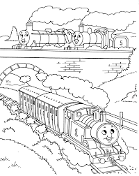 Thomas The Train Coloring Pages Getcoloringpagescom