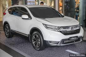 Honda Crv 2017 Malaysia Release Date