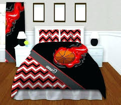 basketball duvet cover basketball comforter sets girls basketball duvet cover red teen bedding kids chevron duvet