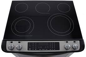 excellent frigidaire gallery fges3065pf electric slide in range review with regard to frigidaire glass stove top replacement popular