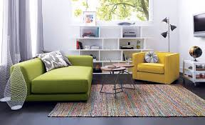colorful modern furniture. View In Gallery Colorful Yellow And Green Seating Modern Furniture N