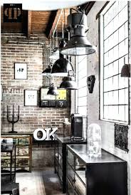 industrial chic home decor bedroom kitchen room style full size ...