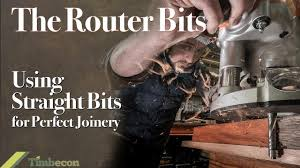 The <b>Router Bits</b> - Using <b>Straight</b> Bits for Perfect Joinery - YouTube