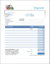 Child Care Receipt Daycare Payment Receipt Rome Fontanacountryinn Com