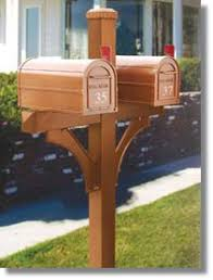 wood mailbox posts. Brilliant Posts Wooden Post For Two Mail Boxes  4870 Deluxe 1 Sided Mailbox Posts  In Wood Mailbox Posts O