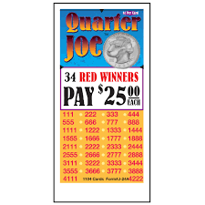 Quarter Cards Quarter Joe Muncie Novelty