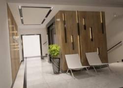 office entrance design. Entrance Hall Area Of Apartments Building Interior Design 3d Model Office