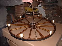 vintage wagon wheel chandelier and light fixture for your home