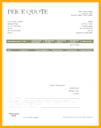 Request For Quote Template Excel Catering Quote Template Sample Quotation S Printable Electrical